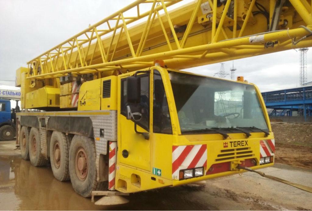 Кран Demag 100 тонн