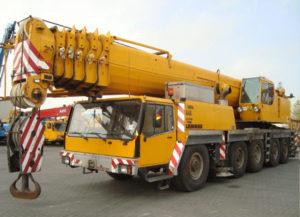 Либхер 1120 120 тонн