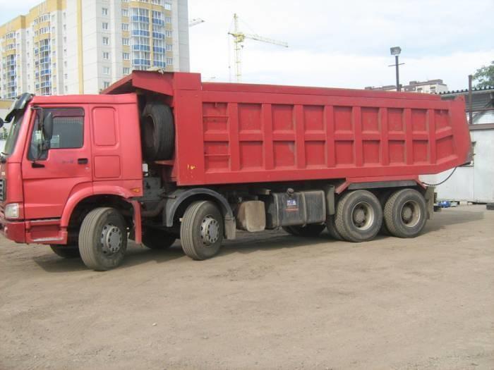 HOWO 25 тонн