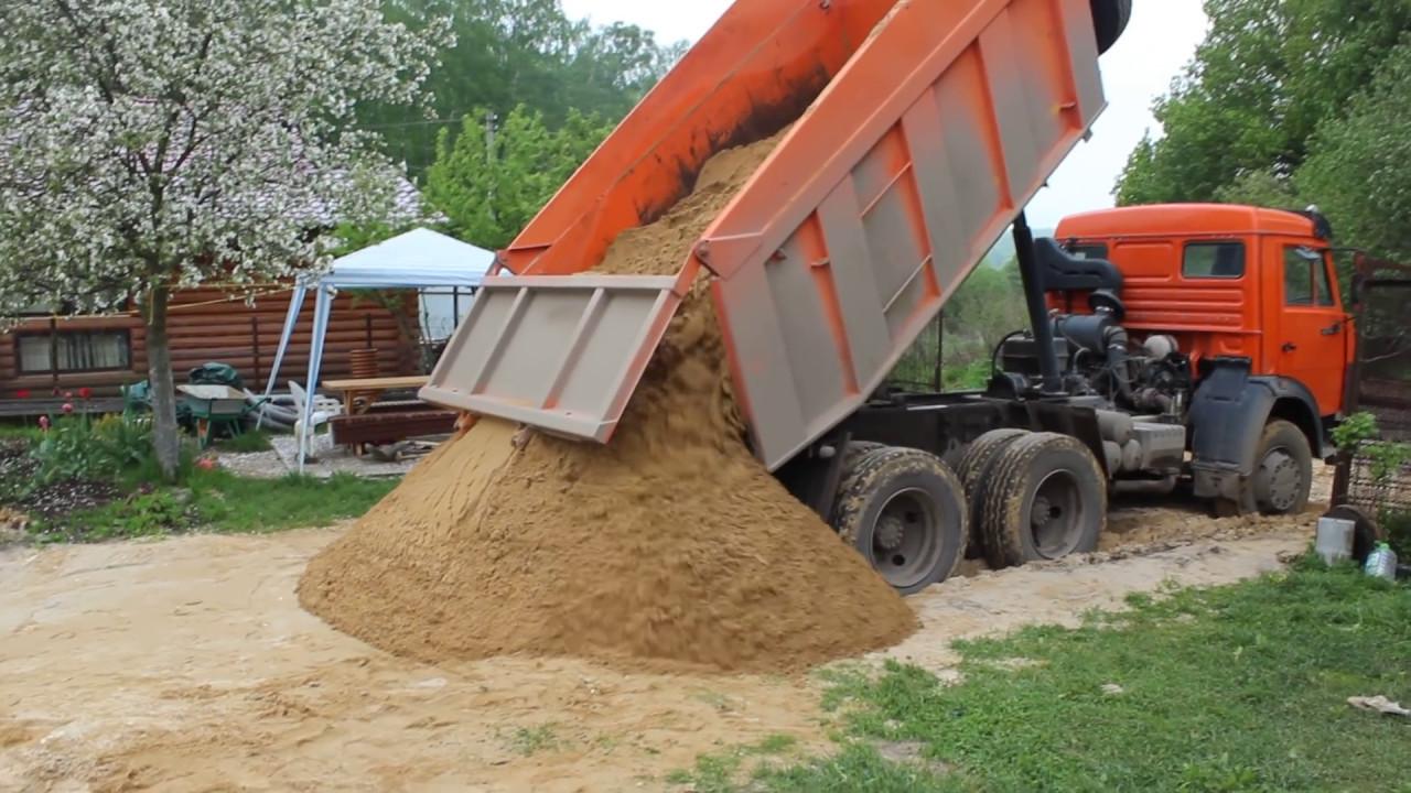 песок камаз