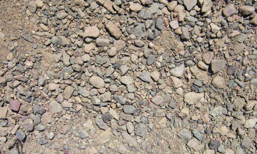 смесь щебеночно песчаная