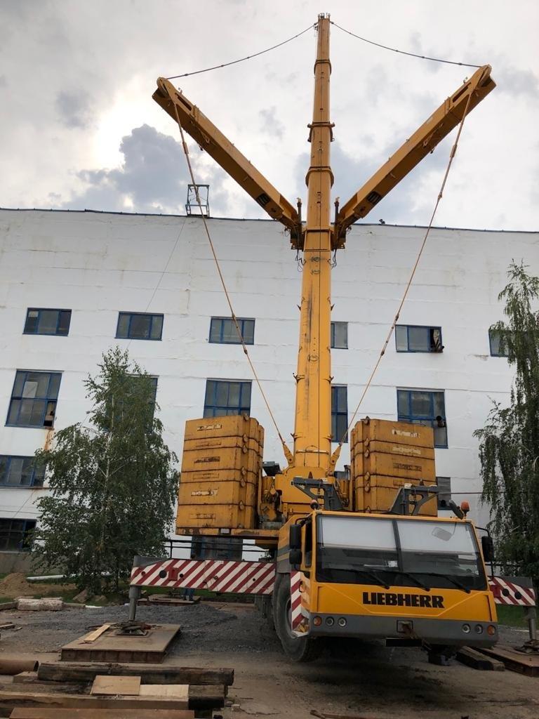 автокран 400 тонн услуги