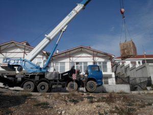 КС-65713-1 «Галичанин» за работой