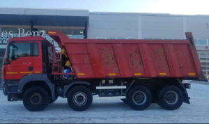 аренда самосвала Ман 25 тонн